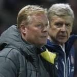 Ronald Koeman dan Arsene Wenger
